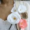 Брошка квітка своїми руками: вживані матеріали і покрокові способи виготовлення аксесуара зі шкіри та фетру