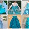 Як зшити плаття ельзи з холодного серця для дівчинки своїми руками