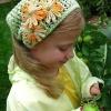 Косинка для дівчинки гачком зі схемами для початківців для різного віку