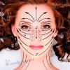 Масажні лінії обличчя і шиї