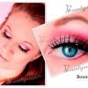 Ніжний макіяж в рожевих тонах