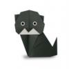 Орігамі кішка, яка порадує вас в будь-дня тижня і стане чудовою прикрасою вашого інтер`єру
