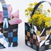 Плетіння з паперу для початківців: майстер клас з виготовлення кошика, книжкової закладки і килимка