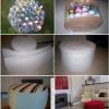 Пуф з пластикових пляшок своїми руками з цікавим і докладним майстер - класом, відео і картинками