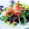 Салат «сьомга з овочами»
