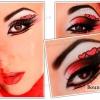 Тематичний макіяж на день святого валентина