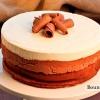 Тришаровий шоколадний торт-мус