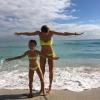 Віра брежнєва показала молодшу дочку сару в купальнику