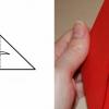 Валентинка орігамі своїми руками - незвичайний подарунок на 14 лютого