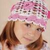 В`язані гачком шапочки для дівчаток на весну, літо, осінь і зиму (з покроковими фото та схемами)