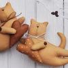 Форма кота тильда, кота саймона і подушки кота зі зрозумілою інструкцією і майстер - класом, які допоможуть вам у створенні химерних іграшок