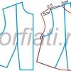 Викрійки блузок: майстер-клас з побудови викрійки основи блузки та кілька простих варіантів моделювання з фото-інструкціями