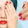 Новинки дизайну нігтів манікюр червоного кольору