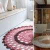 Схема і опис як зв`язати килимок гачком