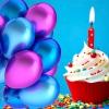 Своїми словами привітання з днем народження